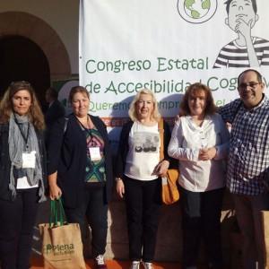 Ángela Sánchez presenta nuestra Experiencia Admirable en el Congreso Estatal de Accesibilidad Cognitiva