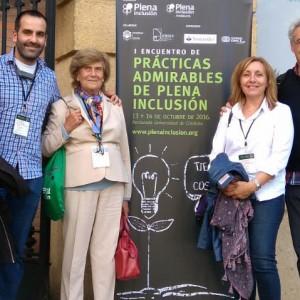 Participamos en el I Encuentro de Prácticas Admirables de Plena Inclusión en Córdoba