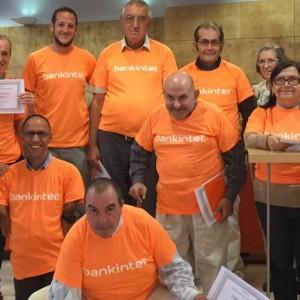 Las personas de las Viviendas aprenden con nuestros amigos de Bankinter