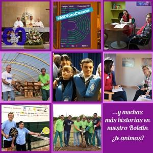 Las mejores historias vividas en la Fundación en octubre, las tienes en nuestro Boletín