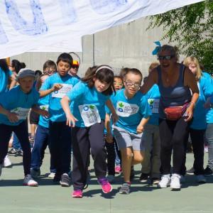 """El colegio de Fundación Gil Gayarre, el primero de Educación Especial en participar en la """"Carrera contra el hambre"""""""