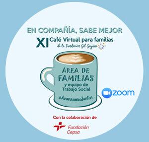 ¡Animaos a participar en la XI edición de nuestro Café Virtual para familias!
