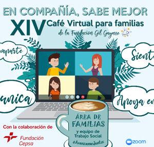 ¡Participa en el XIV Café Virtual para familias!