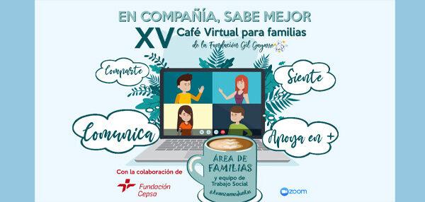 XV Café Virtual para familias
