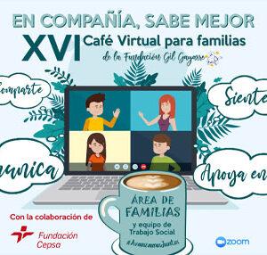¡Vuelven los Cafés Virtuales para familias!