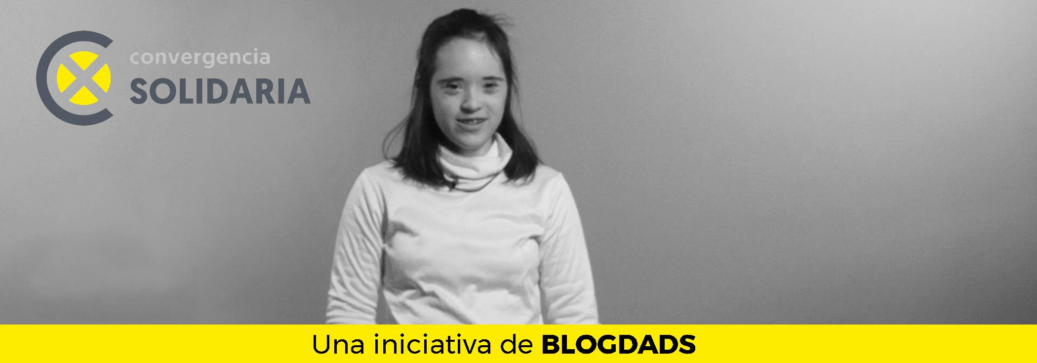 Aitana en Convergencia Solidaria, de Blogdads y Fundación Gil Gayarre