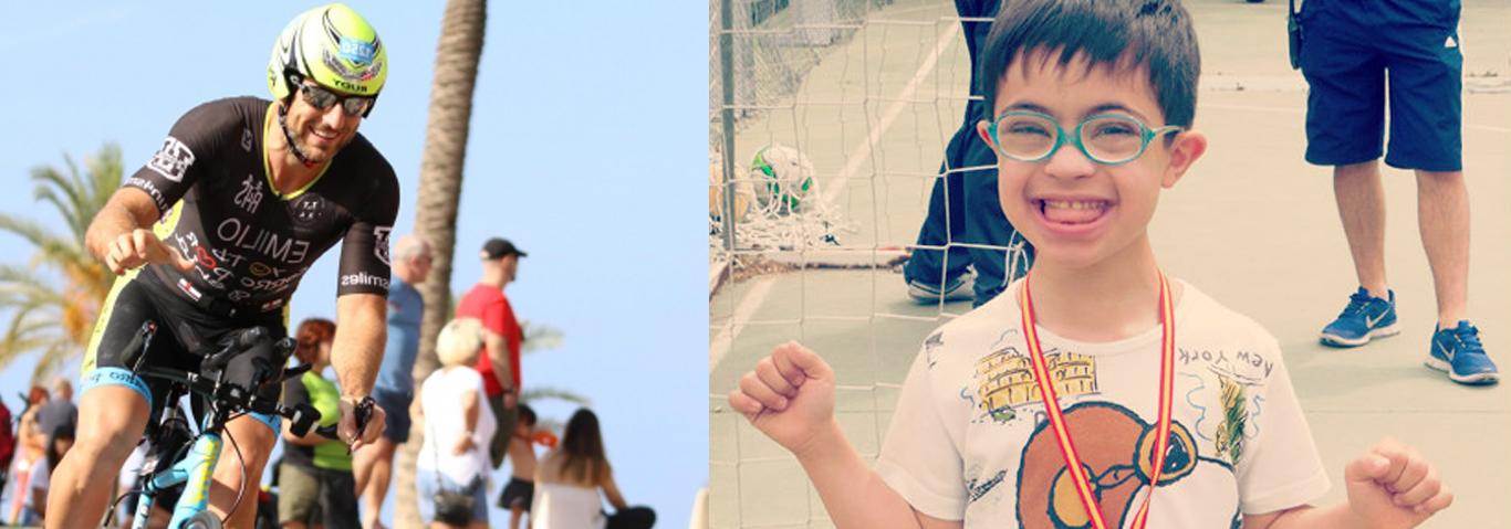 Emilio correrá un Ironman por los alumnos del Colegio.