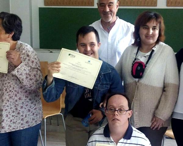 Entrega de diplomas CREARTE