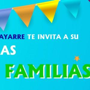 ¡Ven a disfrutar a nuestra Fiesta de las Familias!