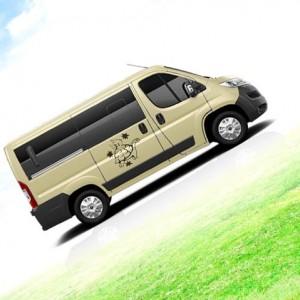 ¡Una divertida gymkana familiar para conseguir una furgoneta nueva!