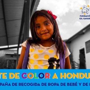 Viste de color a Honduras a través de nuestra campaña de recogida de ropa de bebé y niño
