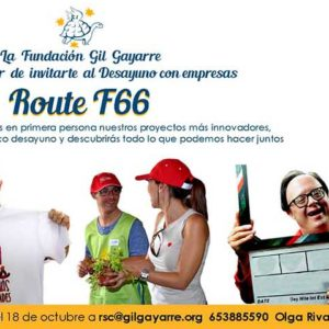 """El próximo 25 de octubre celebraremos nuestro desayuno con empresas """"Route F66"""""""