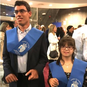 Enhorabuena Alejandra y Jorge, alumnos del Colegio, premiados por su esfuerzo