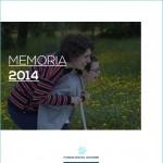 Memoria 2014 - Fundación Gil Gayarre