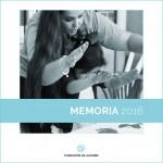 Memoria de actividades 2016 de Fundación Gil Gayarre.