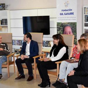 Javier Fernández-Lasquetty, consejero de Hacienda de la Comunidad de Madrid se interesa por conocer nuestra labor