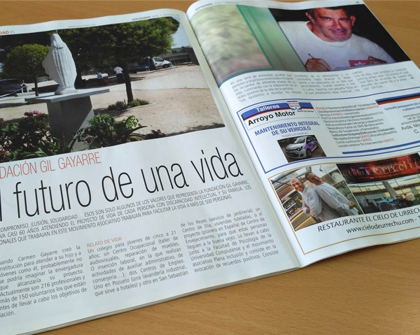 Noticia revista pozuelo in FGG