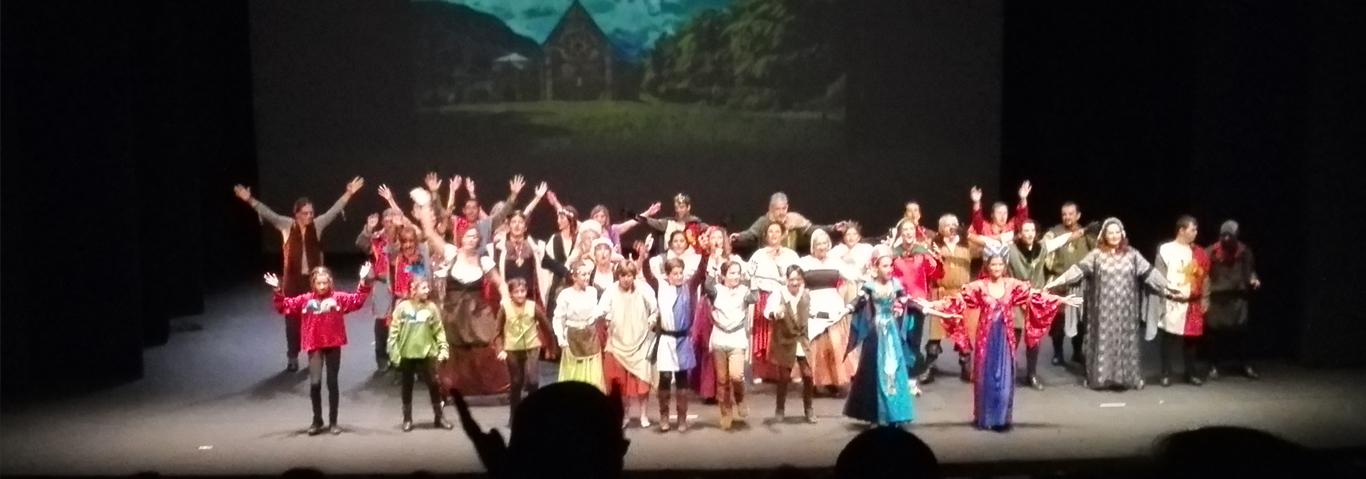 Tatro Actu En MIRA por la Fundación Gil Gayarre