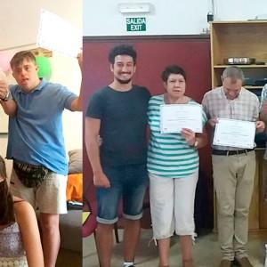 Enhorabuena a las 11 personas que finalizan el curso del Proyecto de Vida Independiente
