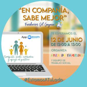 ¡Anímate a participar en nuestro quinto café virtual con familias!