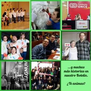 Las mejores aventuras vividas en la Fundación en diciembre, las encontrarás en nuestro Boletín