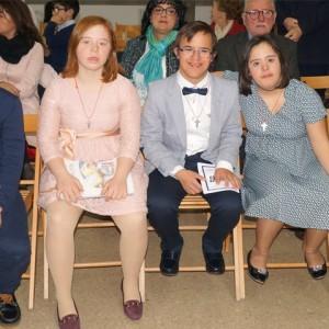 Jóvenes, valientes y alegres. Así son los 7 alumnos que se han confirmado este año en la Fundación