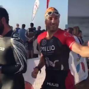 ¡Vivimos el gran día del reto solidario de nuestro Ironman Emilio Moreno!
