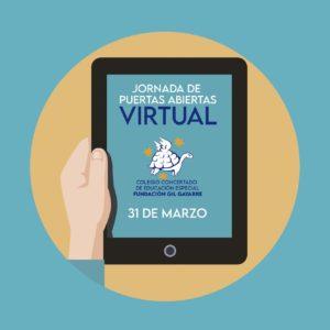 ¡Te esperamos en la Jornada de puertas abiertas virtual de nuestro Colegio!