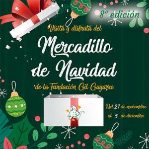 Te invitamos a la octava edición de nuestro Mercadillo de Navidad