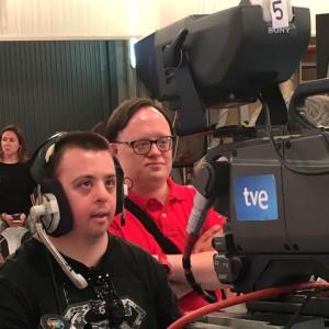 Finalizamos las prácticas del curso de Ayudante de cámara en RTVE