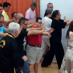 Finaliza en la Granja San José el curso de Taichi con una estupenda demostración